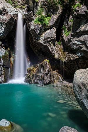 Waterfalls of Lanterna creek