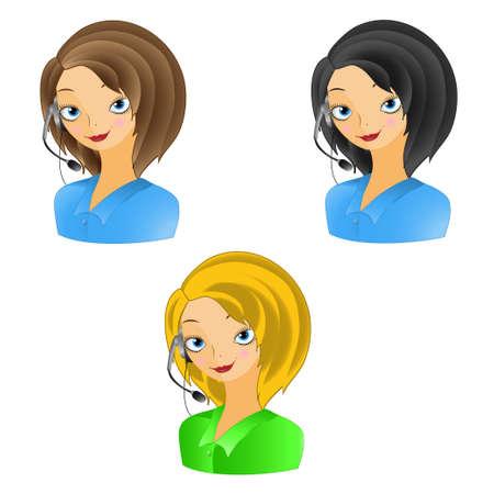switchboard operator: girl operator