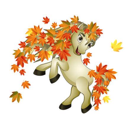paard herfst