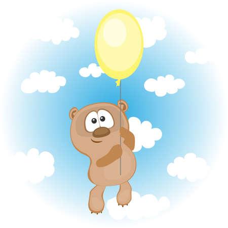Funny dragen met ballon