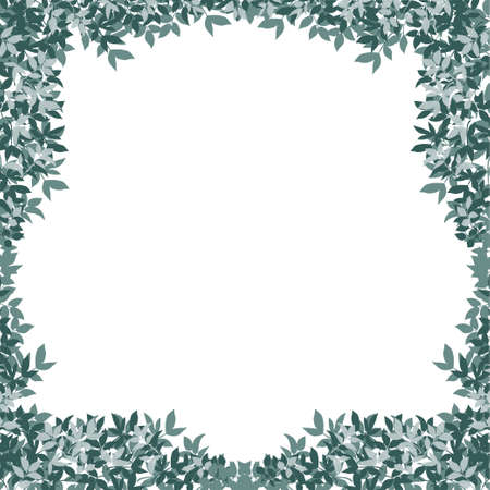 groene bladeren van een boom. vector illustratie