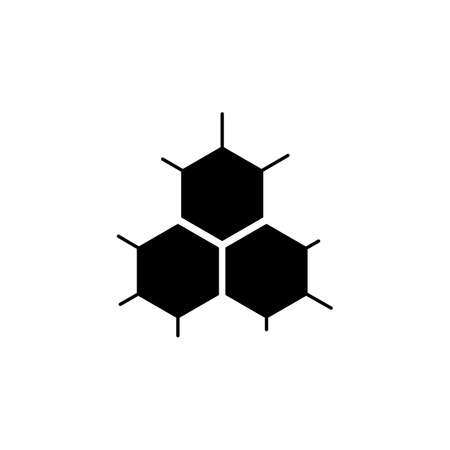 Cell structure icon. Vector icon 矢量图像