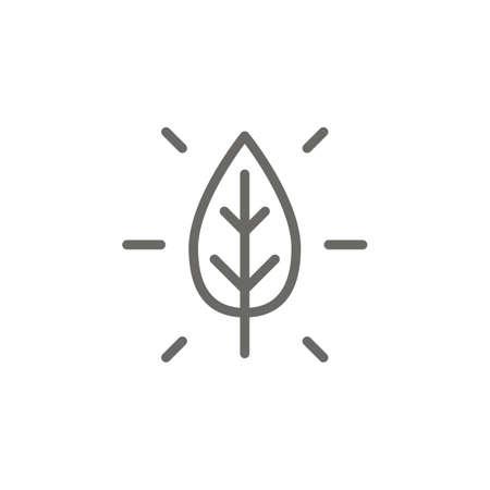 Nature symbol vector icon. Spiritual concept vector illustration. Ilustrace