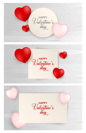 Valentines day paper background with icon set. Vector illustration. Wallpaper, flyers, invitation, posters, brochure, voucher,banners.