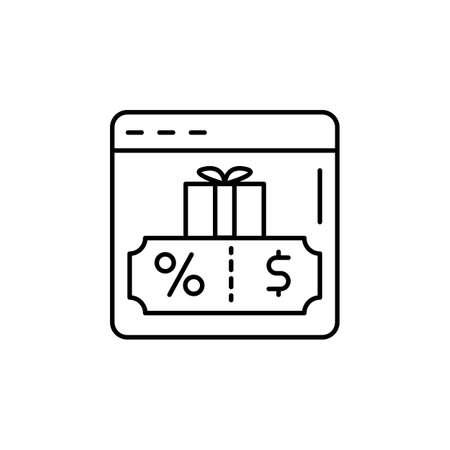 web site, page, giftbox, coupon