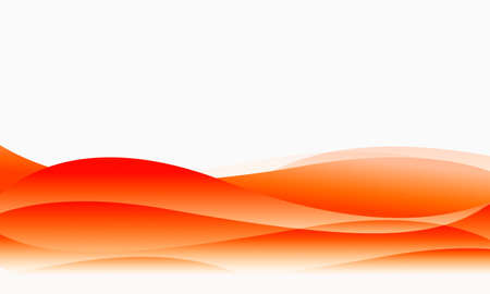 Abstract waves. Flowing curves, lovely color. Stock Photo - 8348026