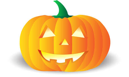 Vectorial pumpkin, fully editable, it can be scaled or resized at any dimmension. Vector