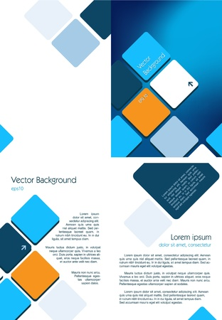 flyer design: This image is a vector illustration and can be scaled to any size without loss of resolution   Illustration