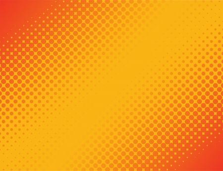 gradient: Tento obrázek představuje abstraktní půltón pozadí Halftone Background Ilustrace