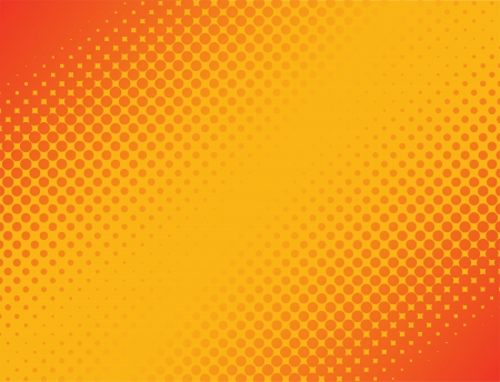 halftone: This image represents an abstract halftone background   Halftone Background Illustration
