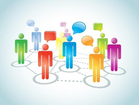 La representación social conexión de red abstracto Contiene mezcla de modo de superposición No malla o red de conexión transparencias