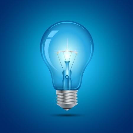 bombillo: Esta imagen es un fichero que representa un foco de luz Vectores