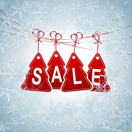 This image is a  file representing a collection of season sale price tags.