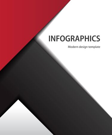 This image is a file representing a modern design template. Illustration