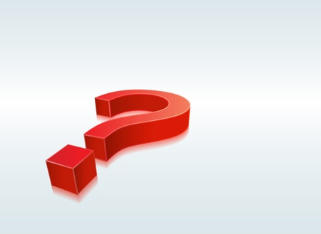 This image is a vector file representing a question mark. Vector