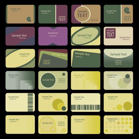 namecard: Business Card Backgrounds Illustration