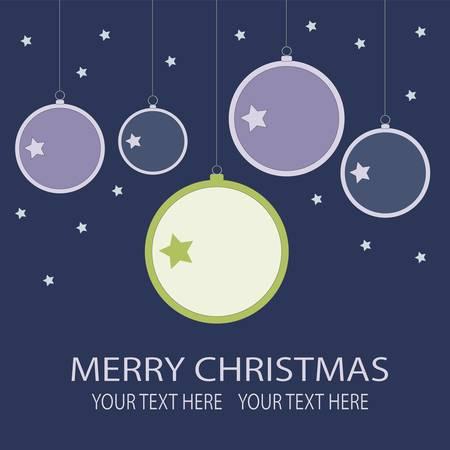 Christmas balls  Stock Vector - 9897365