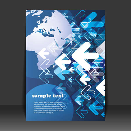 Flyer Design - Business Stock Vector - 9933737