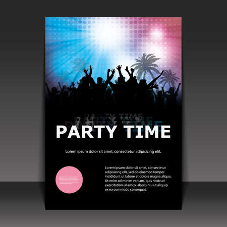 party flyer: Flyer Design - Party Time