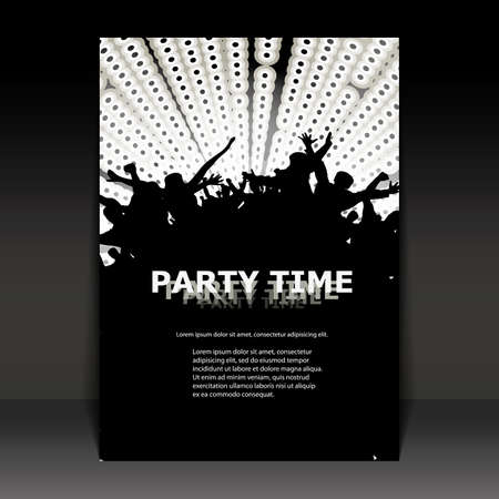 rave: Flyer Design - Party Time