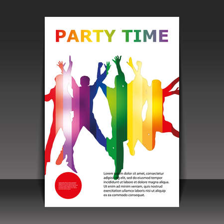 club flyer: Flyer Design - Party Time