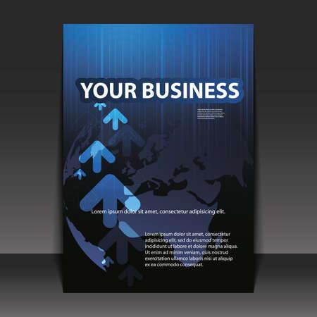 presentation folder: Flyer Design - Business