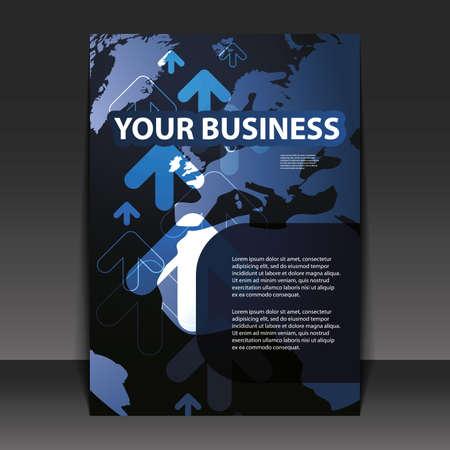 Flyer Design - Business Stock Vector - 9933744