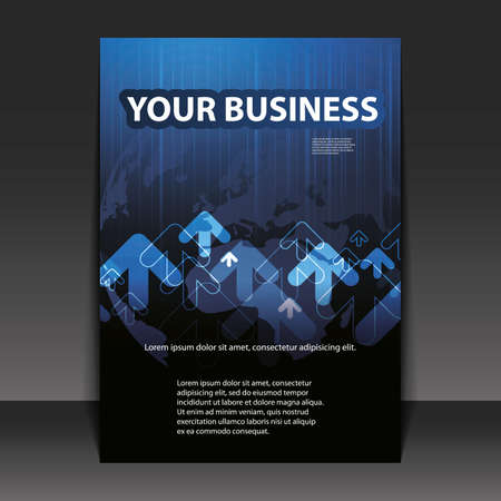 Flyer Design - Business Vector