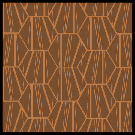 geometric pattern in a square: Abstract pattern Illustration