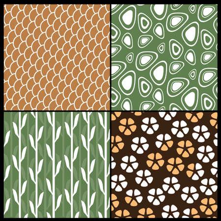 japanese style: Japanese Style Pattern Illustration
