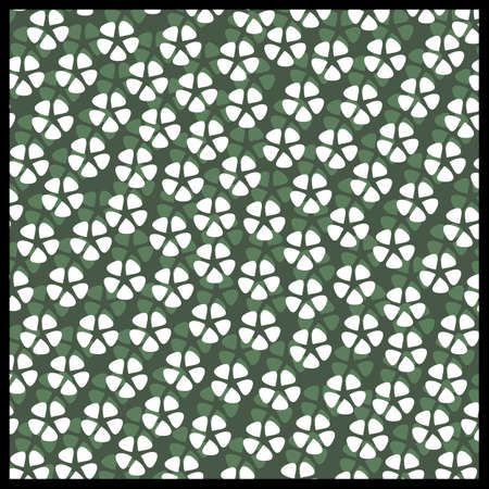 Floral style pattern Vector