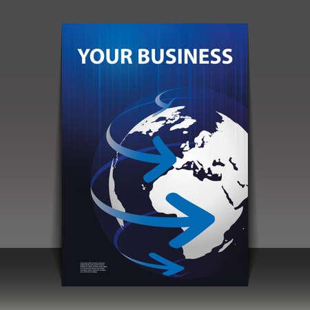 チラシ デザイン - ビジネス