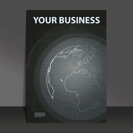 Flyer Design - Business Stock Vector - 9941095