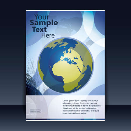 Flyer Design - Business Stock Vector - 9941074