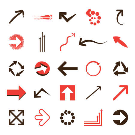 right arrow: 25 vectores de iconos Vectores