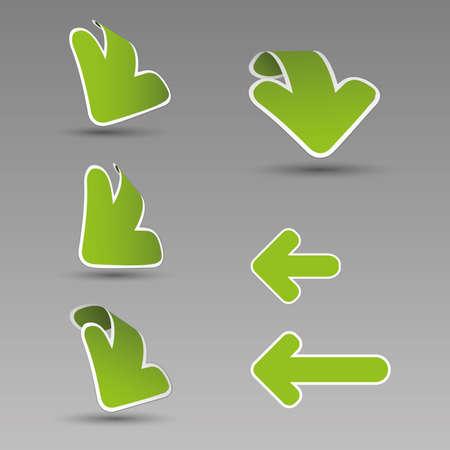 move arrow icon: Etiquetas de flecha 3D