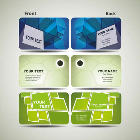 call card: Colorful Business Cards