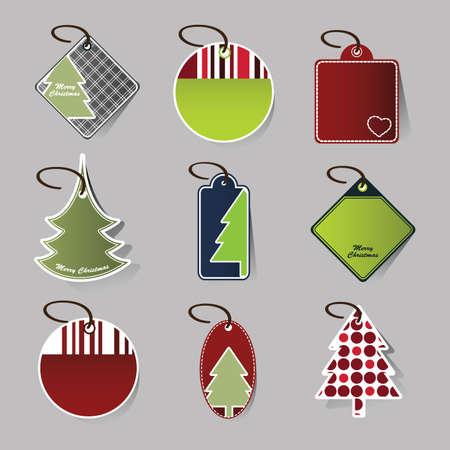 Christmas price tags Stock Vector - 10269840
