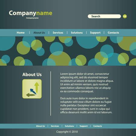 siti web: Sito Web Template
