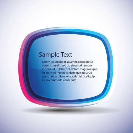 Speech bubble vector background Stock Vector - 10314050