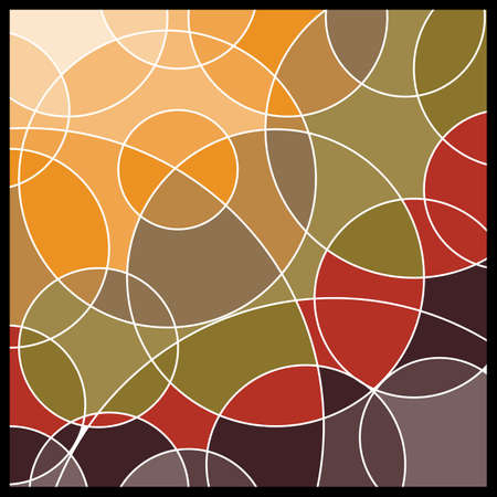 Abstract Geometric Mosaic Background Stock Vector - 10385171