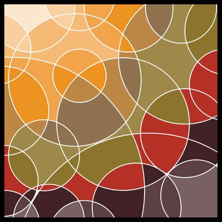 pattern: Abstracte geometrische mozaïek achtergrond