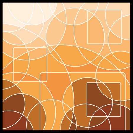 digitally: Abstract Geometric Mosaic Background Illustration