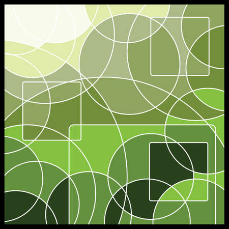 Abstract Geometric Mosaic Background Vector