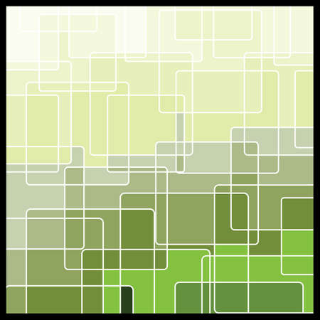green grid: Abstract Geometric Mosaic Background Illustration