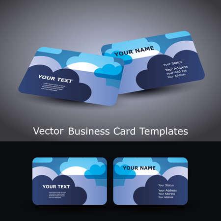 leaflet design: Business Cards