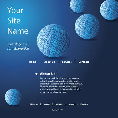worldwide website: Website Template