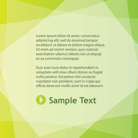 folleto: Fondo colorido abstracto  Vectores