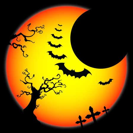Halloween Background Stock Vector - 10549415