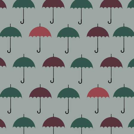 crimp: Umbrella pattern background